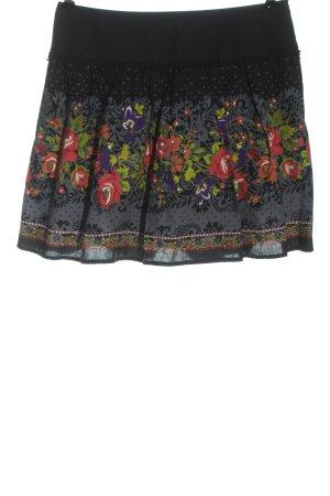 Promod Mini-jupe imprimé avec thème style décontracté
