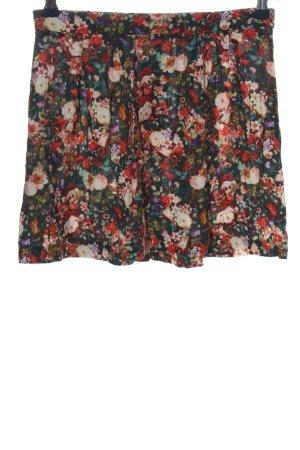 Promod Mini-jupe motif de fleur style décontracté