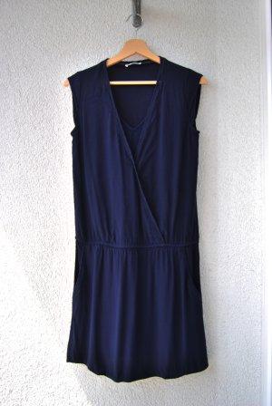 PROMOD Navy Blau Damen Freizeitkleid, Grösse: S