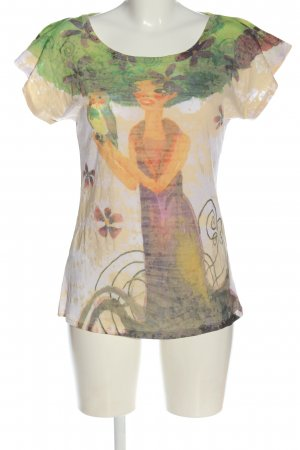 Promod Print-Shirt Allover-Druck Casual-Look