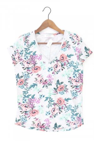 Promod Printshirt Größe M Kurzarm grau