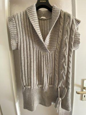 Promod Cardigan lungo grigio chiaro