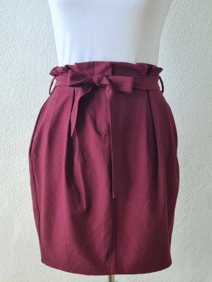 Promod Ballonrok paars Polyester