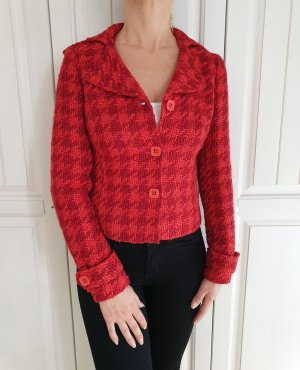 Promod Veste oversize rouge clair-rouge