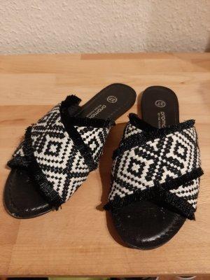 Promod Outdoor Sandals white-black