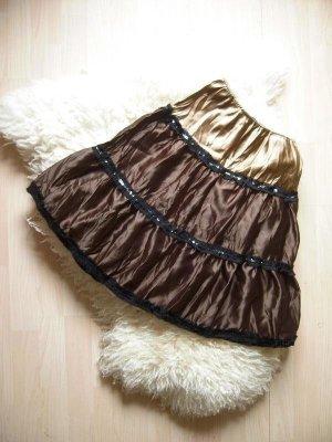 Promod Spódnica midi Wielokolorowy Tkanina z mieszanych włókien