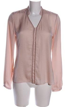 Promod Schlupf-Bluse pink Business-Look