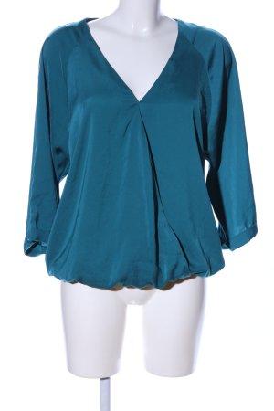 Promod Schlupf-Bluse blau Casual-Look