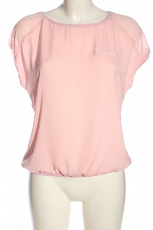 Promod Schlupf-Bluse pink Casual-Look