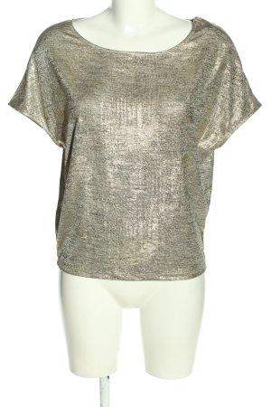 Promod Schlupf-Bluse goldfarben meliert Casual-Look