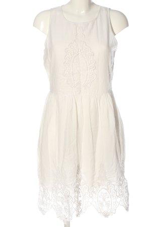 Promod Blusenkleid weiß Elegant