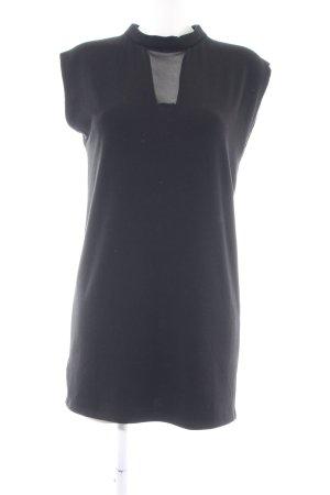 Promod schulterfreies Kleid schwarz Business-Look