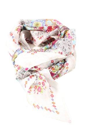 Promod Écharpe en soie motif de fleur style décontracté