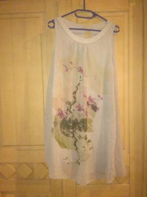 Promod Shirt Kleid mit Blumenprint