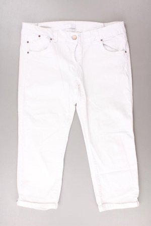 Promod 7/8 Length Trousers natural white cotton