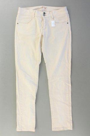 Promod Skinny Jeans creme Größe 38