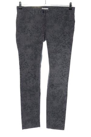 Promod Slim Jeans hellgrau Allover-Druck Casual-Look