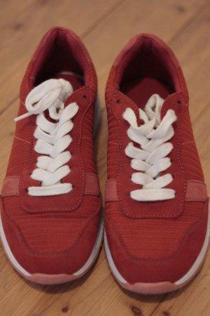 Promod Sneaker Rot/Beige