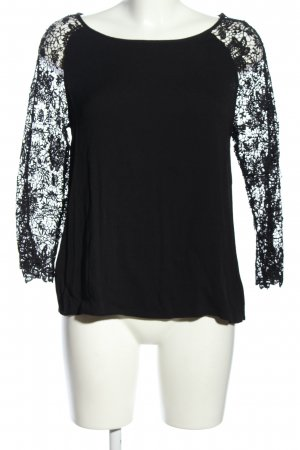 Promod Lace Blouse black casual look
