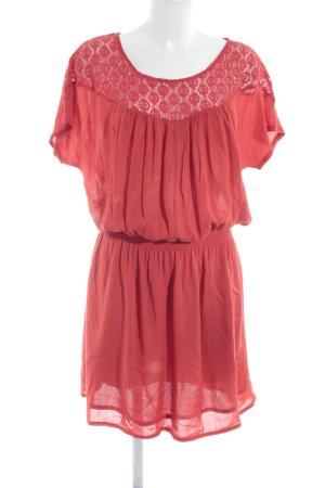 Promod Lace Dress red elegant