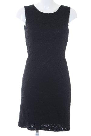 Promod Spitzenkleid schwarz Elegant