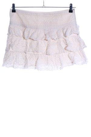 Promod Kanten rok wit casual uitstraling