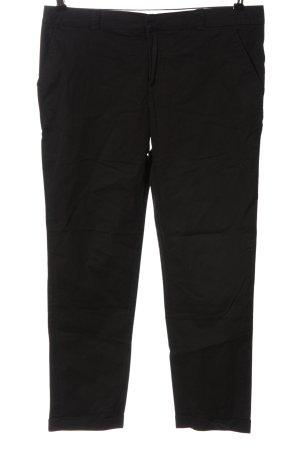 Promod Pantalon en jersey noir style décontracté
