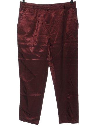 Promod Stoffhose rot extravaganter Stil