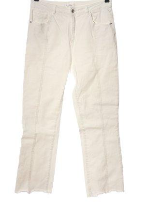 Promod Jeans coupe-droite crème style décontracté