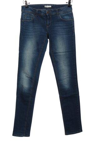 Promod Jeans a gamba dritta blu stile casual