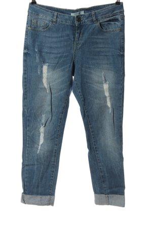 Promod Jeans coupe-droite bleu style décontracté
