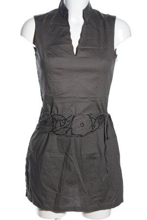 Promod Vestido elástico caqui elegante