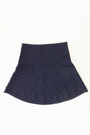Promod Stretch Skirt blue-neon blue-dark blue-azure viscose