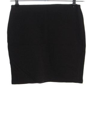 Promod Spódnica ze stretchu czarny W stylu casual