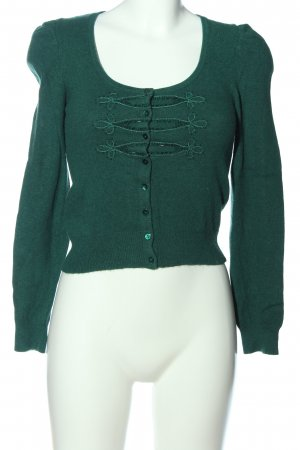 Promod Strick Cardigan grün Casual-Look