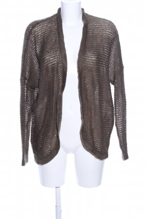 Promod Strick Cardigan bronzefarben Casual-Look