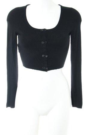 Promod Strickbolero schwarz Elegant