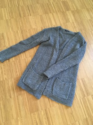 Promod Knitted Coat multicolored