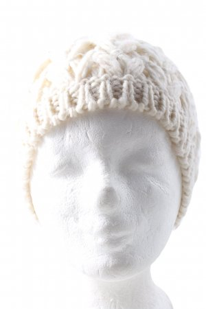 Promod Knitted Hat cream casual look