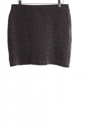 Promod Knitted Skirt allover print casual look