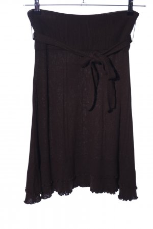 Promod Knitted Skirt brown casual look