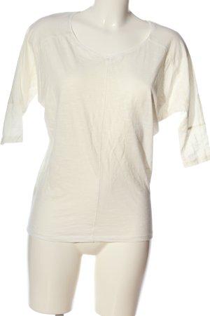 Promod Gebreid shirt wit casual uitstraling