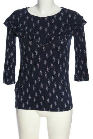 Promod T-shirts en mailles tricotées imprimé allover style décontracté