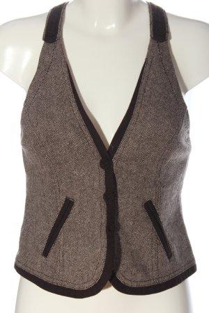 Promod Smanicato lavorato a maglia marrone stile casual
