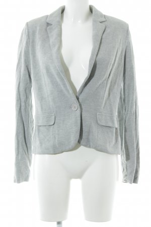 Promod Sweatblazer hellgrau Casual-Look