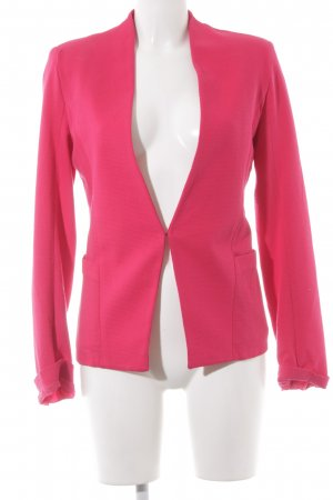 Promod Sweatblazer magenta Business-Look