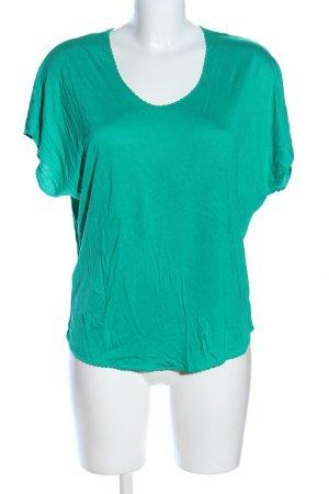 Promod T-Shirt grün Casual-Look