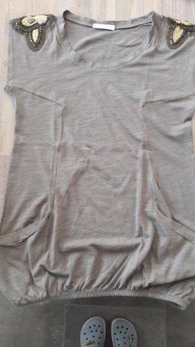 Promod T-Shirt in 34, khaki.