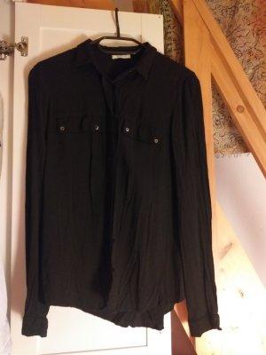 Promod top blouse black size S