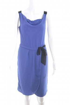 Promod Trägerkleid blau-schwarz Casual-Look